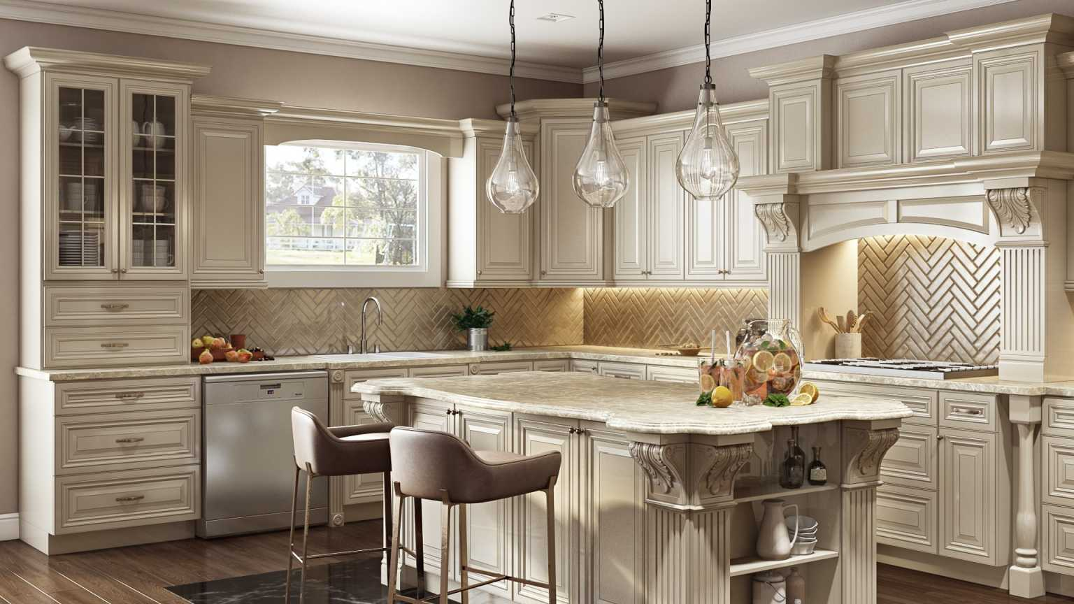 Custom Kitchen Cabinets London Ontario - TK Kitchen & Cabinets
