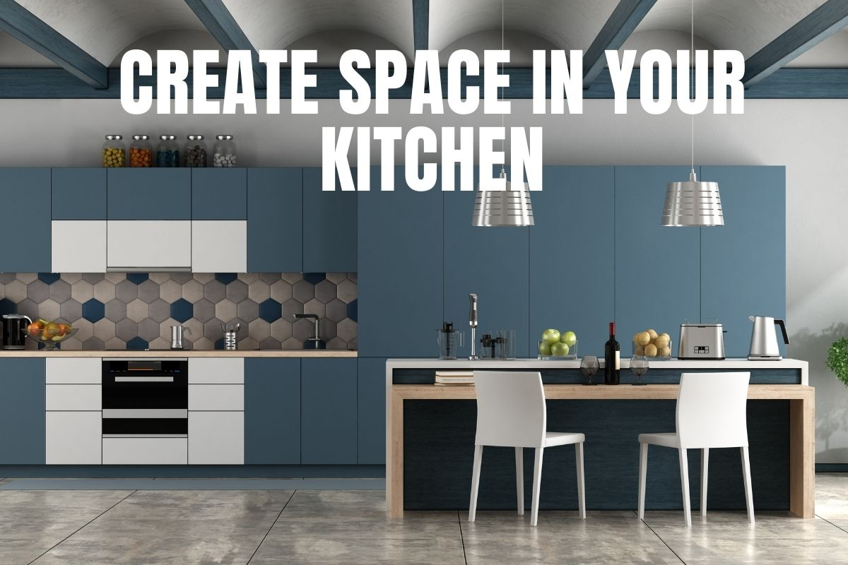 blog image on TK kitchen & vanity website - Top 5 ways to create extra space in your kitchen